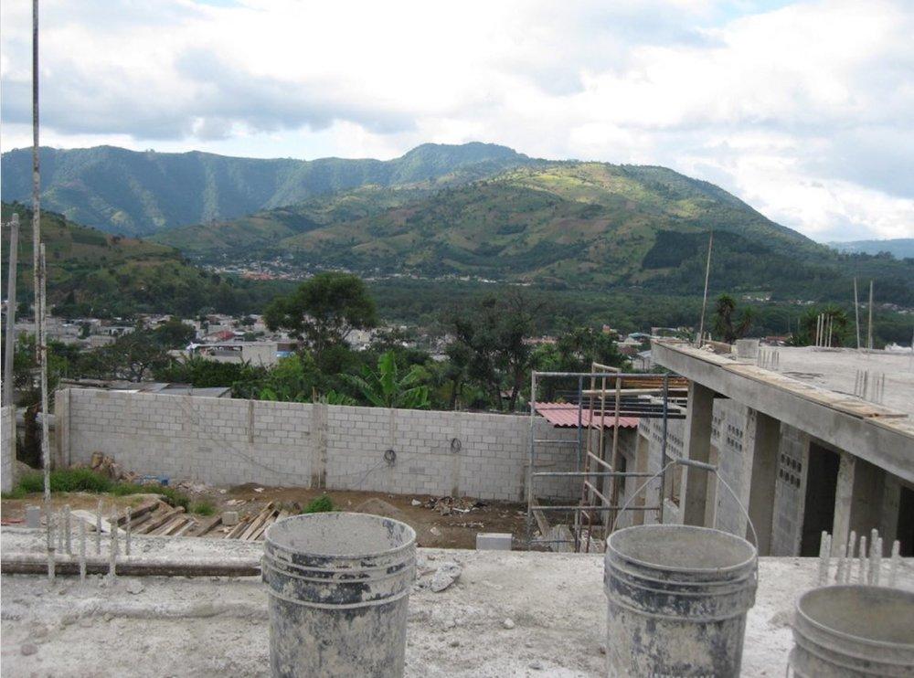 Construction of Ninos de Guatemala, Nuestro Futuro