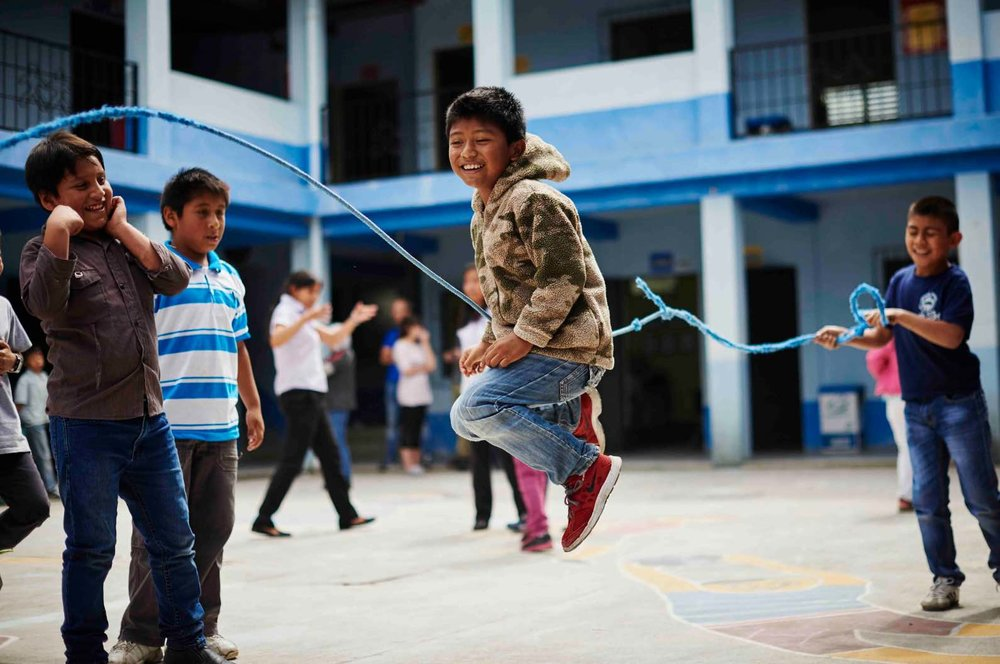 Kids at Ninos de Guatemala