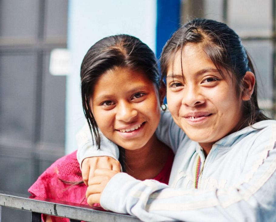 Girls at Ninos de Guatemala