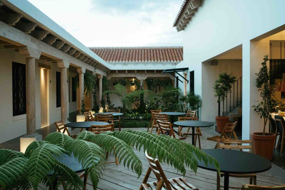 Patio Overview Good Hotel Antigua