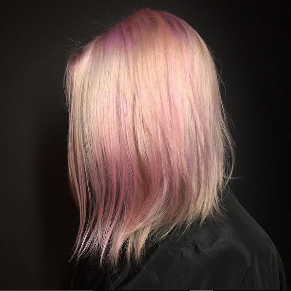 Pastel Pink Unicorn Hair