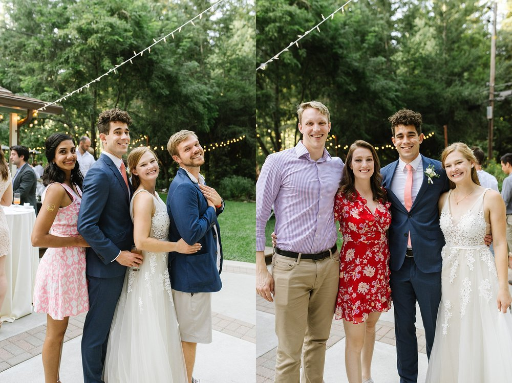 ^^ Fun story about this photo! I met Erica + Riley from photographing Karishma + Danny's wedding and then the couple on the right introduced E+R to each other!