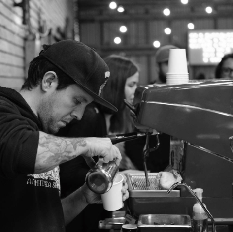Markets  The Hustle is REAL! From the East Side Flea, to the East Van Bazaar, and even the Vancouver Mural Festival, we have your vendor's and guest's coffee cravings covered! #alliteration *photo credit @cafeyvr