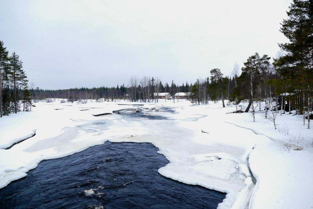 Dorpje in Lapland