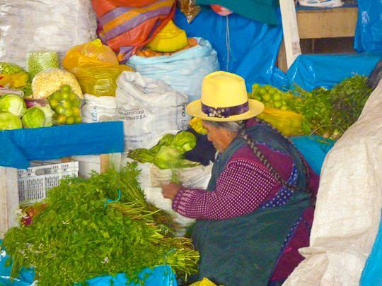 Cusco Markt