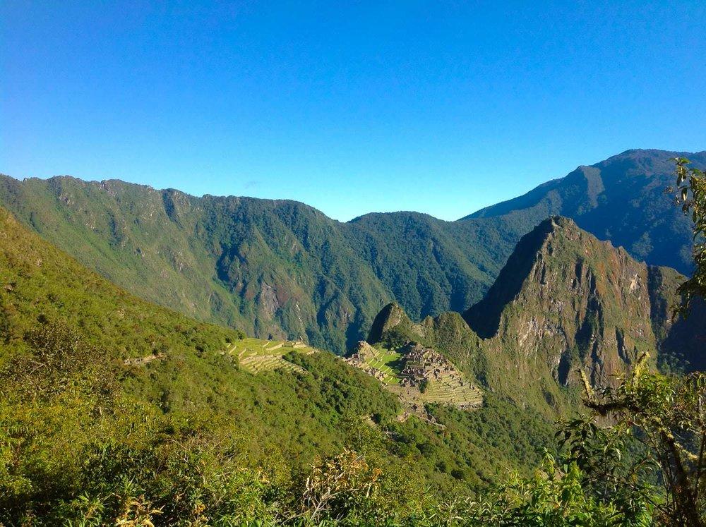Machu Picchu Uitzicht