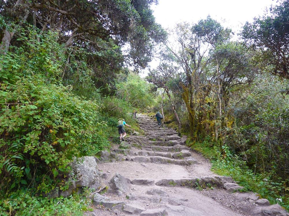 Inca Trail Dag 2