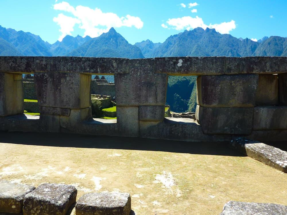 Tempel Machu Picchu