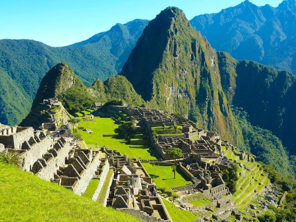 ReisSensatie op bezoek in Peru - aankomst in Machu Picchu vanaf het Inca Trail