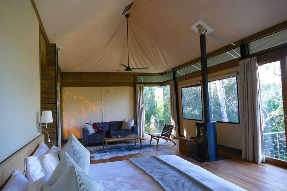Settlers Drift Tent Slaapkamer