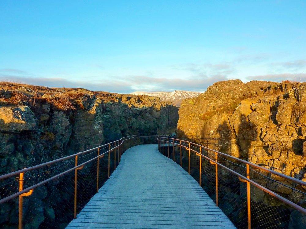 Almannagja Canyon