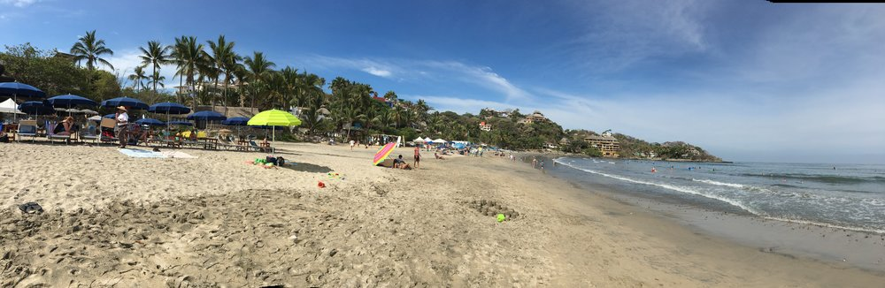 Sayulita Beach in the morning.
