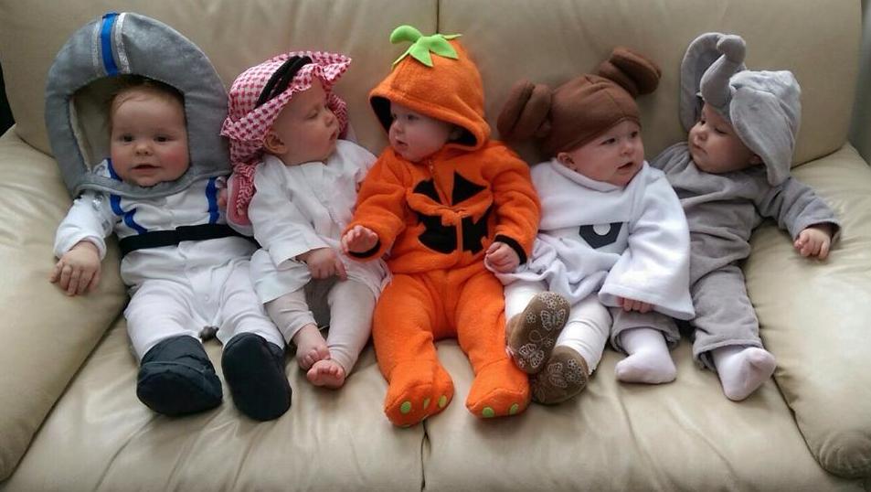 Babies' First Halloween - 2015