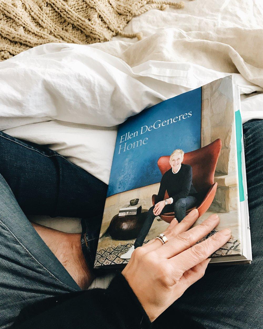 Great reads, Ellen DeGeneres HOME, interior design, inspiration, Nyla Free Designs Inc.