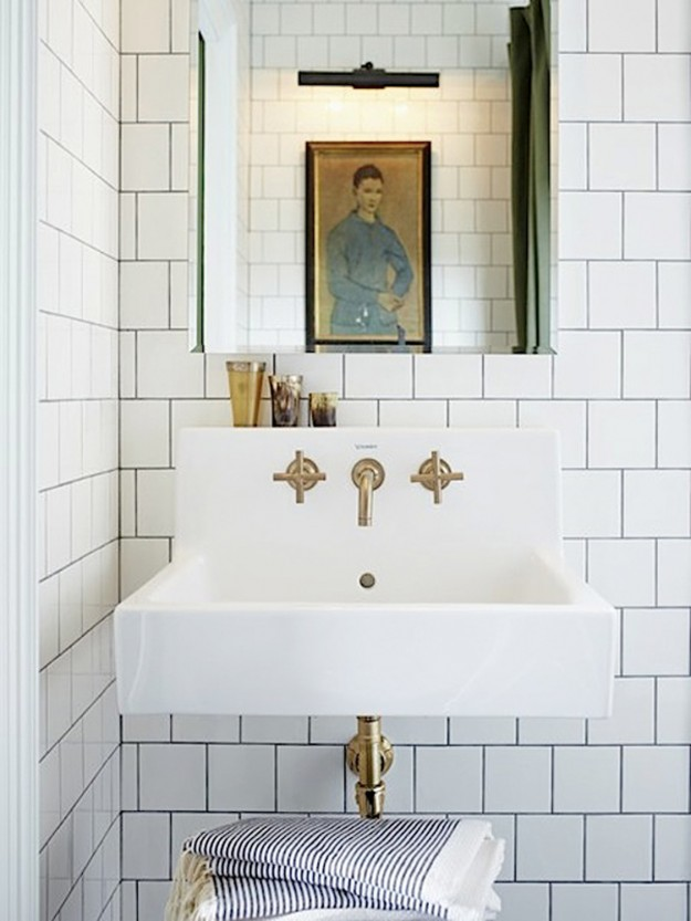 Images Via: Mandy Milku0027s Bathroom Makeover Via House And Home, Via  Apartment Therapy, Morton Ave Project Via Studio . You . Me, Image Source  Unknown: If You ...