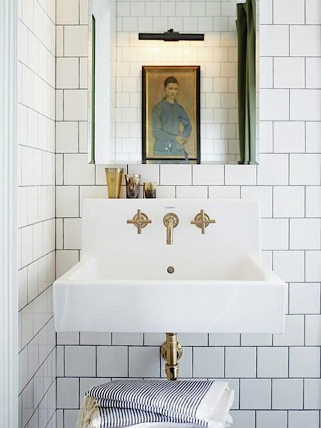 Nyla Free Designs Inc Lately Loving Offset Square White Tile