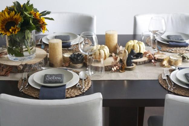 Nyla Free Designs Inc. - Design: Thanksgiving Table Setting