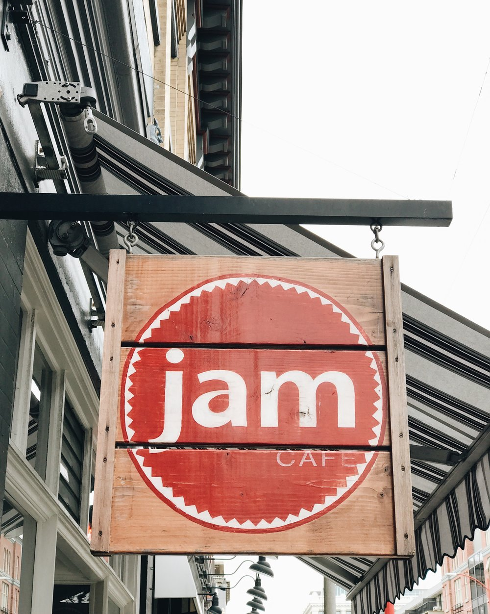 JAM Old Town Cafe, Victoria BC, Nyla Free Designs Inc.