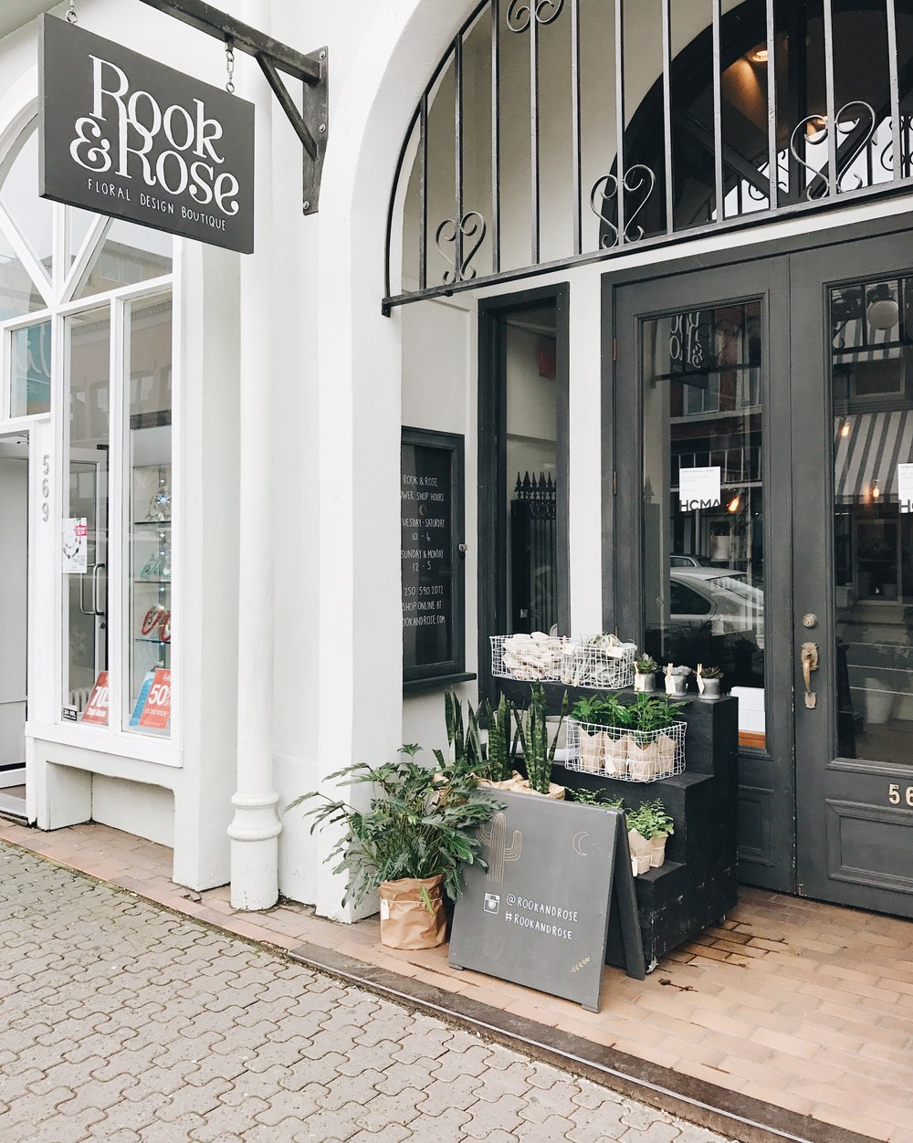 Rook & Rose, Victoria BC, Nyla Free Designs Inc