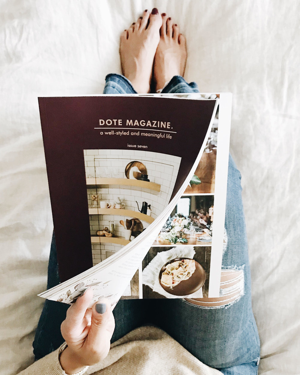 Dote Magazine, Weekend Reading, Nyla Free Designs Inc.