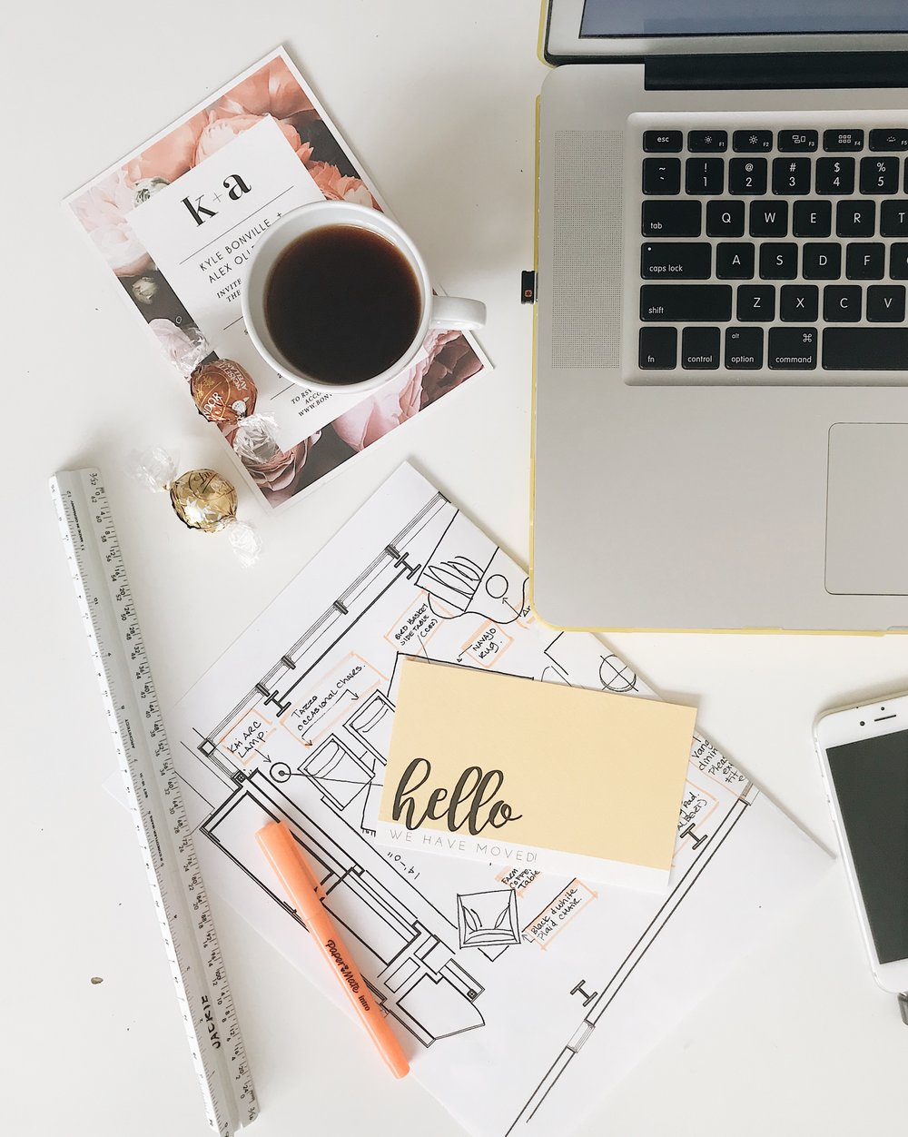 What's on Jackie's Desk, Nyla Free Designs, Calgary Interior Designer