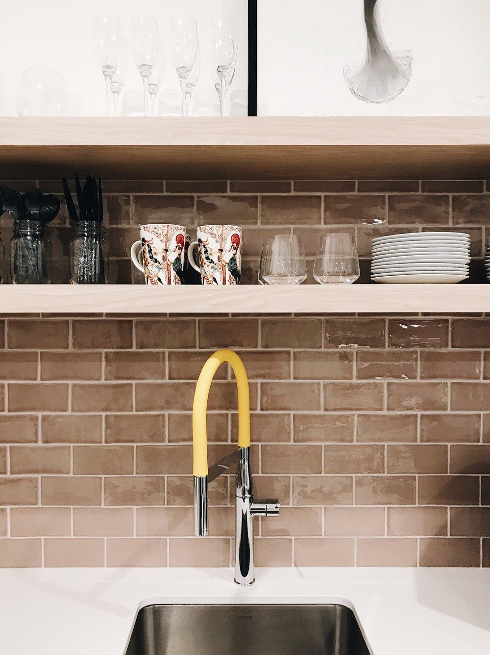 Nyla Free Designs Inc., Calgary Interior Designer, Grohe Essence Faucet