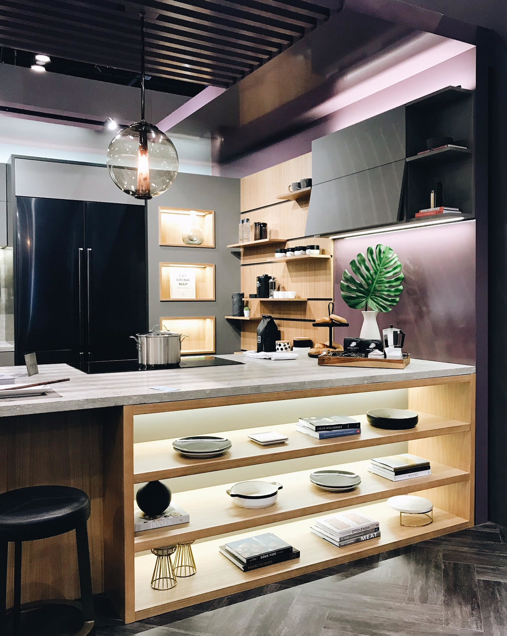 Dacor, Open Shelves, Kitchen Trends, BlogTourKBIS, Modenus, KBIS 2018, Nyla Free Designs, Calgary Interior Designer