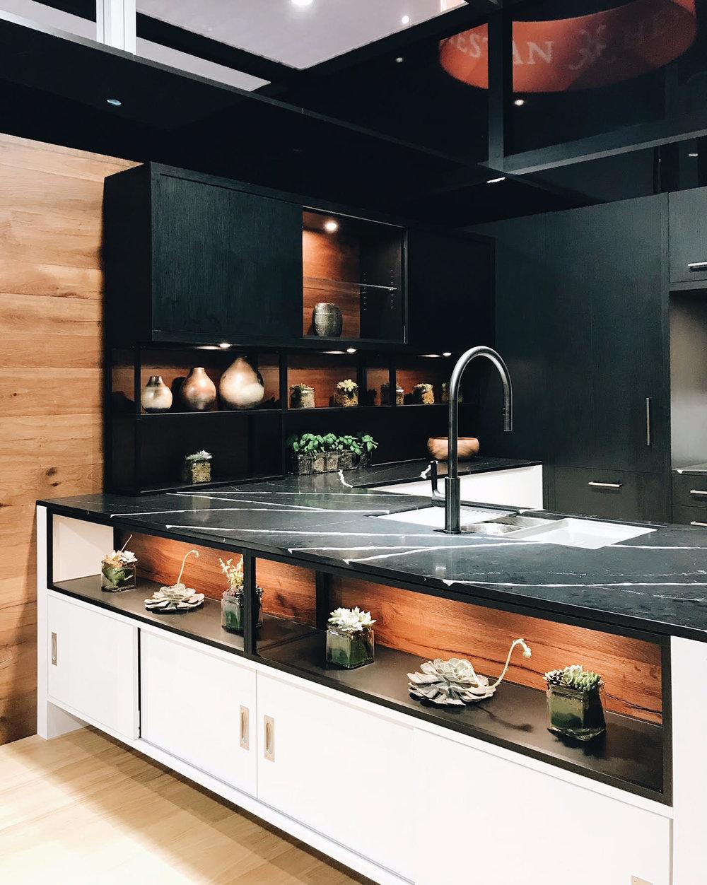 Harmoni, Open Shelves, Kitchen Trends, BlogTourKBIS, Modenus, KBIS 2018, Nyla Free Designs, Calgary Interior Designer