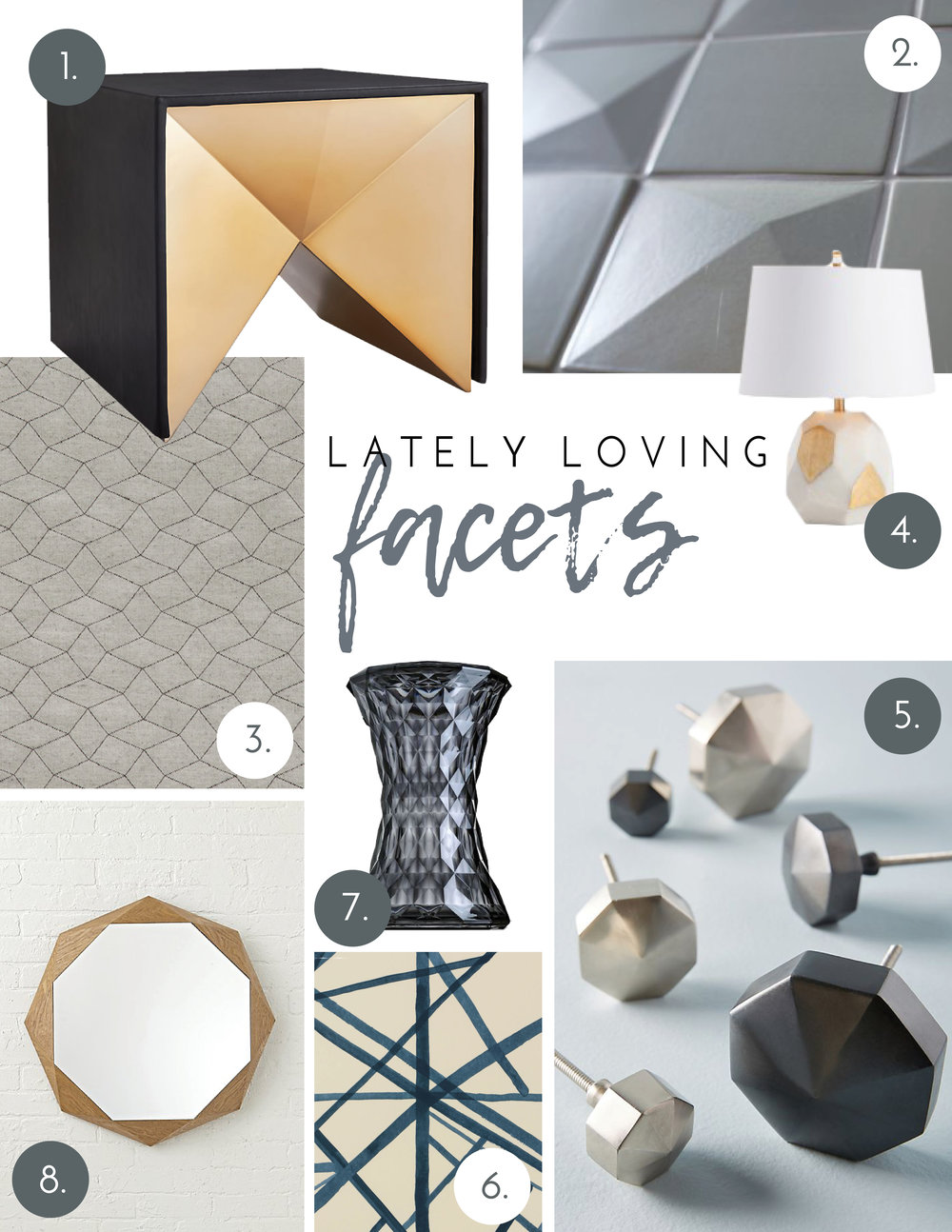 Nyla Free Designs, Calgary Interior Designer, Calgary Interior Design, Facets, Lately Loving, Blog
