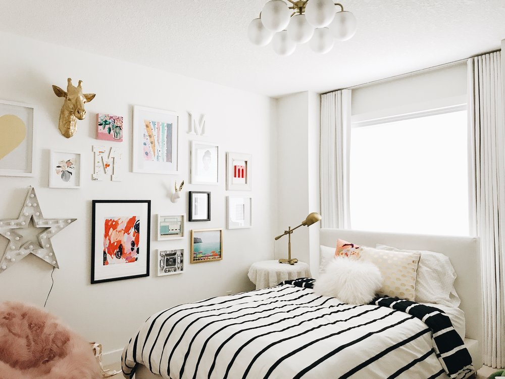 Tween Bedroom MakeOver, Before and After, Confessions of an Interior Designer, Calgary Interior Designer, Nyla Free Designs