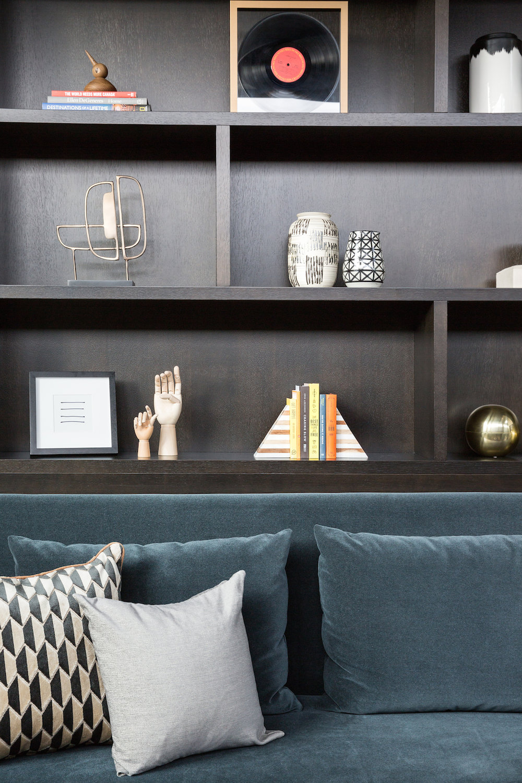 Home Office, Study, Elbow Park Modern, Calgary Interior Designer, Nyla Free Designs