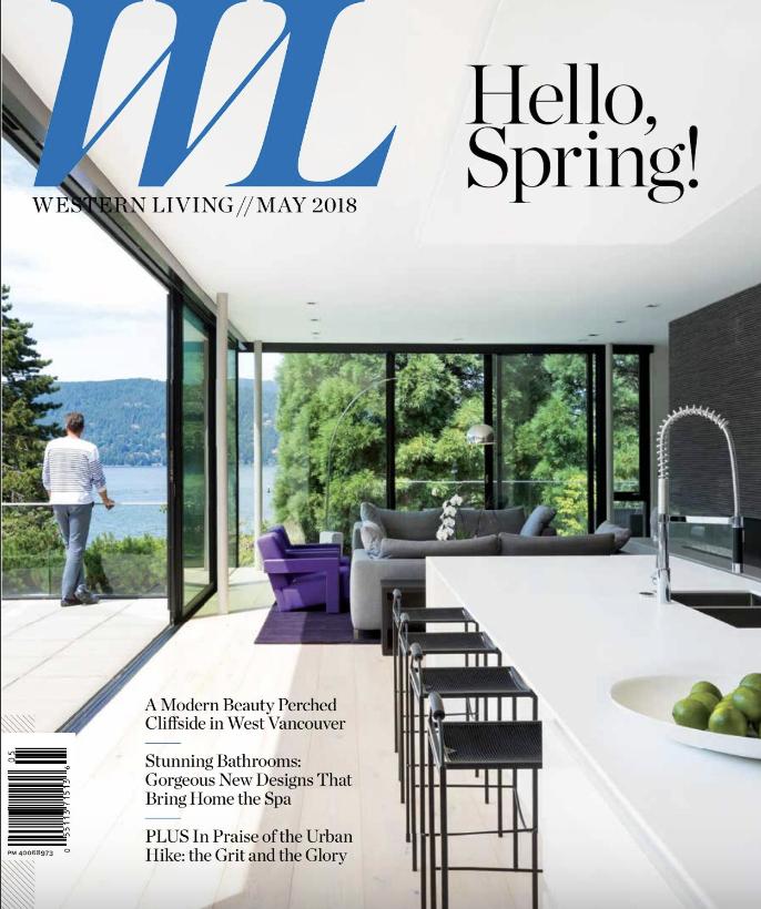 Nyla Free Designs, Western Living Magazine