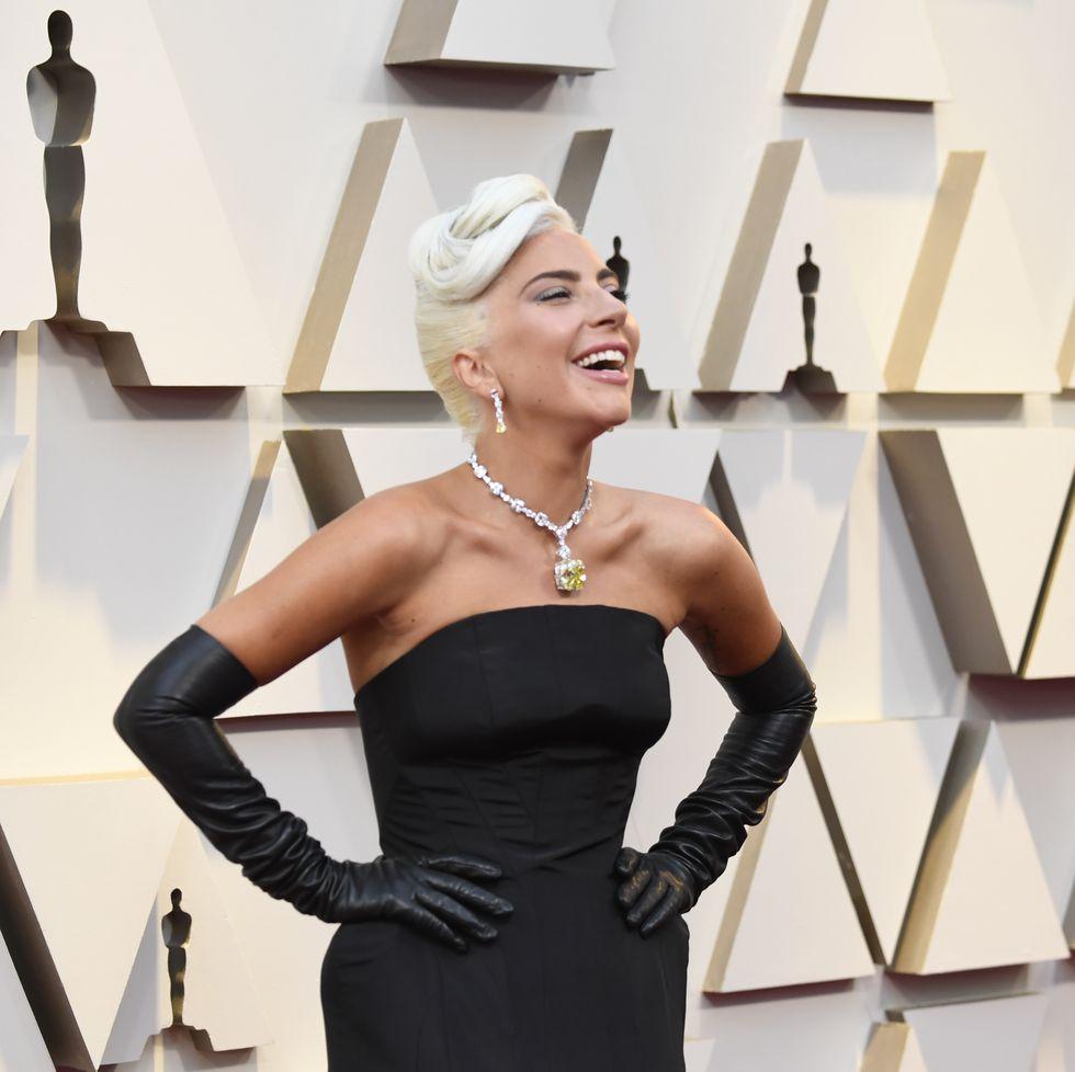 Lady Gaga at the 2019 Oscars, Black Dress, Jet Black, Calgary Interior Designer, Nyla Free Designs