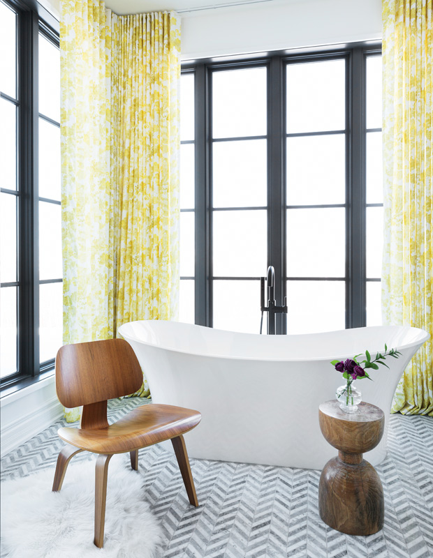 House U0026 Home Online Editorial: These 50 Rooms Prove A Pop Of Colour Is All  You Need