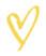 Nyla Free Designs Inc., Yellow, Heart