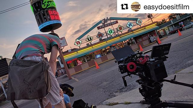 A year ago we embarked on our biggest adventure yet!And it's going well, believe it or not! Follow the journey on our first feature film's insta 👉@easydoesitfilm ・・・ A year ago today we started shooting a little film that would become a big adventure 🎬🎥🏎🍔 . Over the next month we'll take you back to those sweaty giddy days for a look behind the scenes! . 📷: @monsoon.malabar