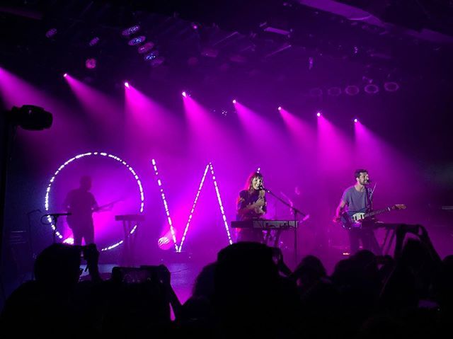 @OhWonderMusic from this past weekend #OhWonder #CommodoreBallroom 📷:@tatertotstagram