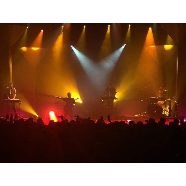 @glassanimals at @voguetheatre a couple weeks back #GlassAnimals