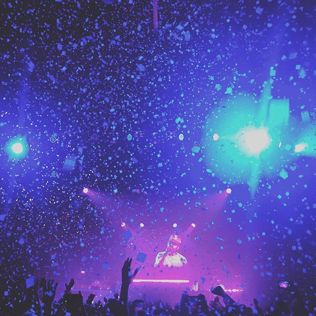 @chancetherapper last night. 📷: @tatertotstagram