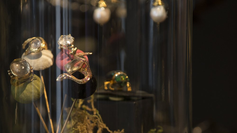 TCH Collection Jewelry presented at Galerie Vauclair in Paris