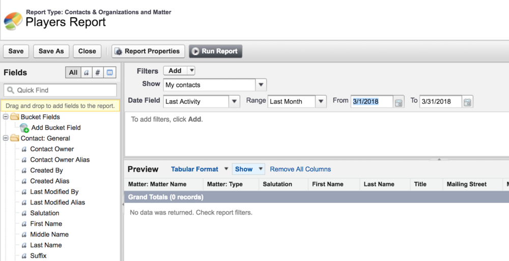 Copy of Report Builder