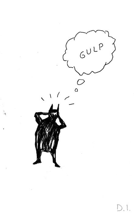 """gulp, 2009 ink on paper 5 5/8 x 3 3/4 """""""