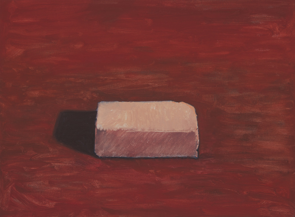 red brick , 2013 oil on linen 18 x 24 inches
