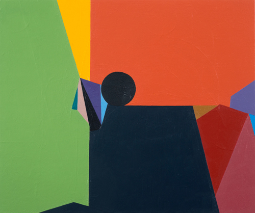 Magic Number , 2012 acrylic and oil on canvas on wood 20 x 24 inches