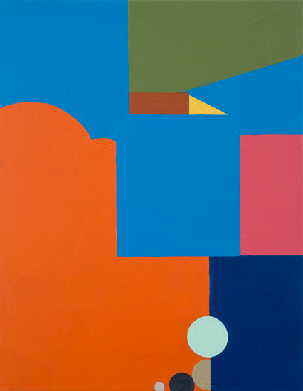 sic , 2012 acrylic and oil on canvas on wood 18 x 24 inches
