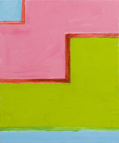 """lockstep ,2015 oil on canvas 24 x 20"""""""