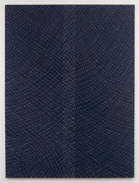 Untitled (pdn242) , 1970-71 acrylic and graphite on canvas 96 x 72""