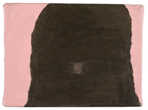 You Have Been Pre-Selected (Pink) , 2006 oil on canvas  6 X 8 inches