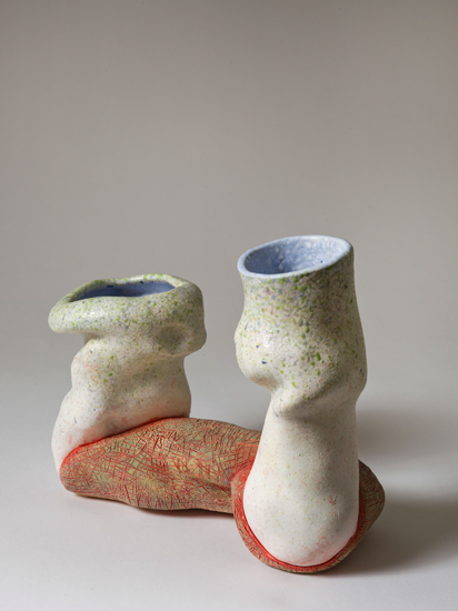 Dyad (7) , 2012 glazed ceramics 8.5 x 5.5 x 10 inches