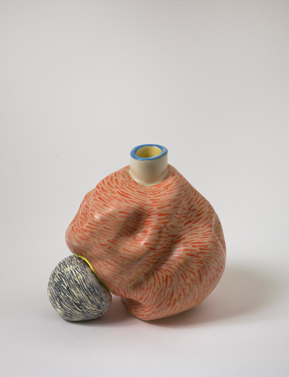 Symbiont , 2010 glazed ceramics 5.5 x 6 x 5 inches